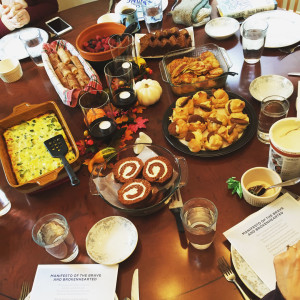 It takes a village - book club brunch - Rising Strong