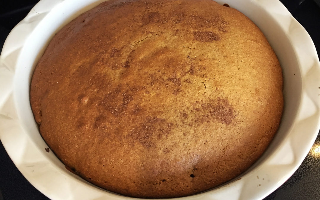 Apple Spice Cake (Quick and Easy)